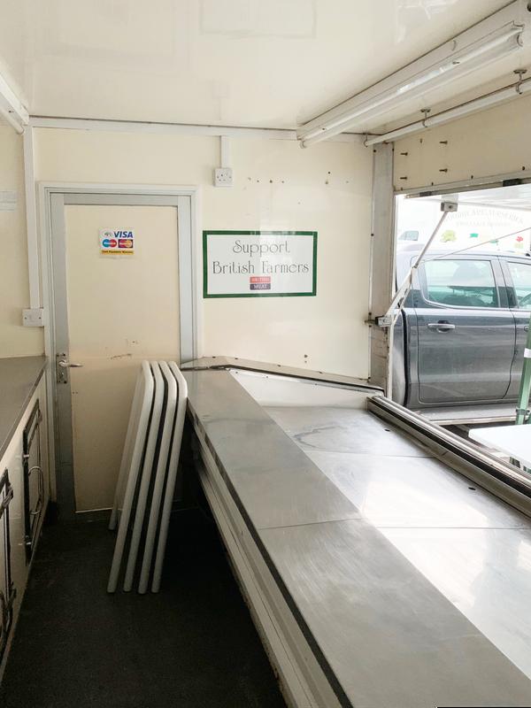 Fishmongers / butchers shop trailer for sale