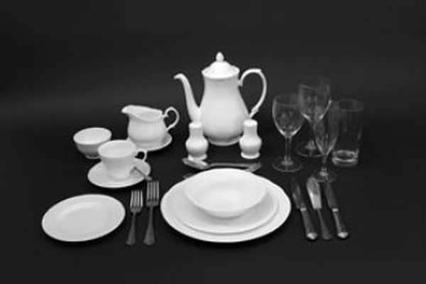 DUCHESS china and DUBARRY cutlery