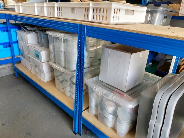 Used Catering Equipment Hire Business Stock