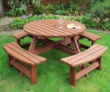 Heavy duty outside bench / picnic table