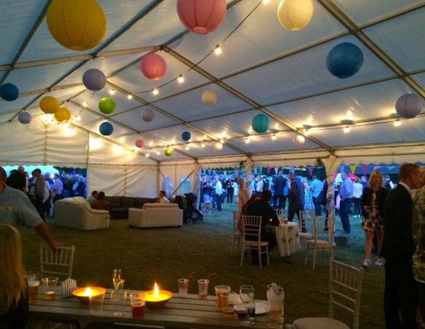 9m x 18m Social distancing marquee