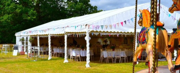 Open sides marquee for sale