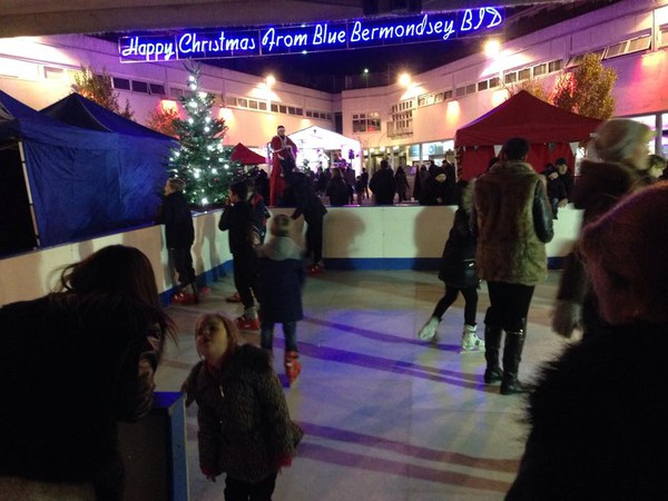 12m x 12m synthetic Ice rink