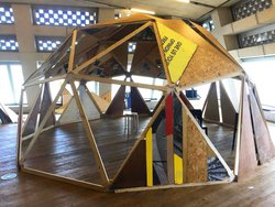 Wooden Geodesic Dome for sale
