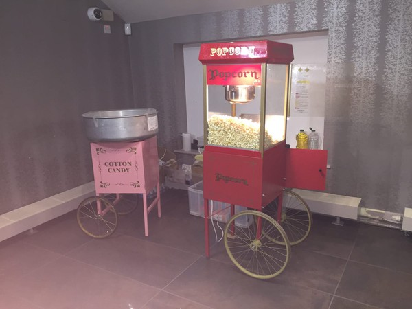 Popcorn and candy floss hire