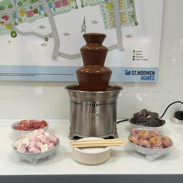 "Sephra CF18 19"" chocolate fountain"