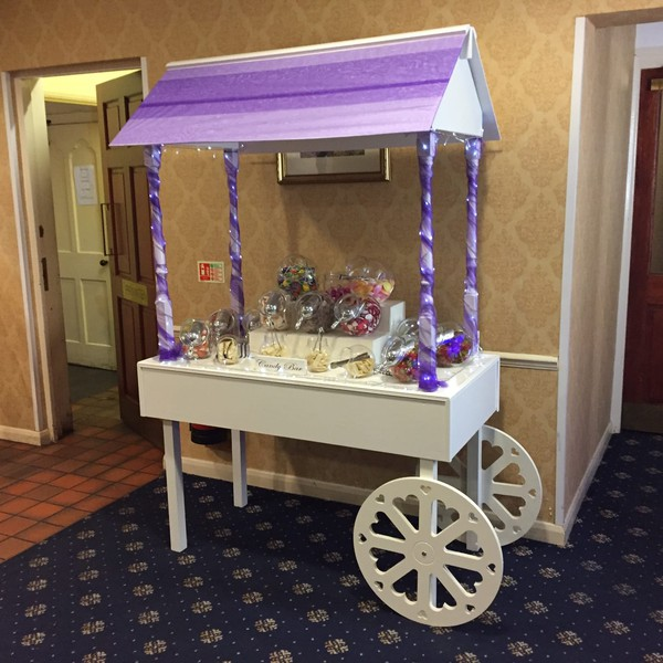 Sweat cart for weddings