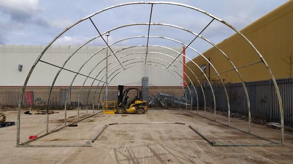 Army Tent Nissen Hut marquee
