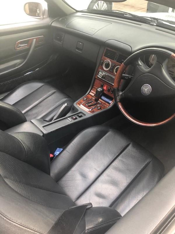 Used Mercedes 200SLK