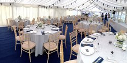 Vintage wedding marquee hire business