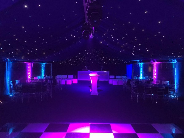 Starlight marquee hire business