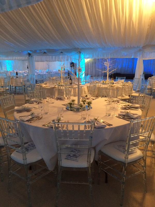 Wedding marquee hire business Oxfordshire