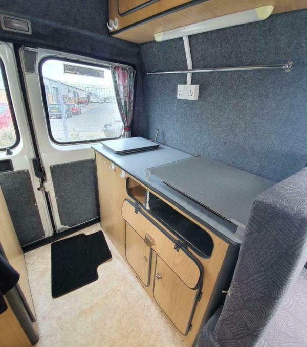 2 berth diesel camper