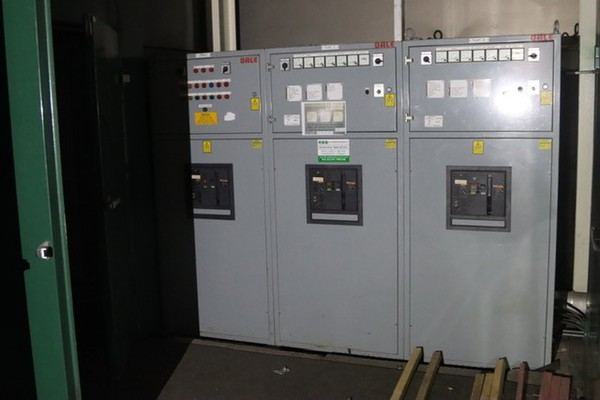 Pair of 700kVA Synch Generators with Switch Board
