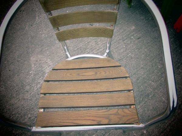 Outside Stackable  Chairs