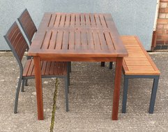 Outdoor tables and chairs / benches