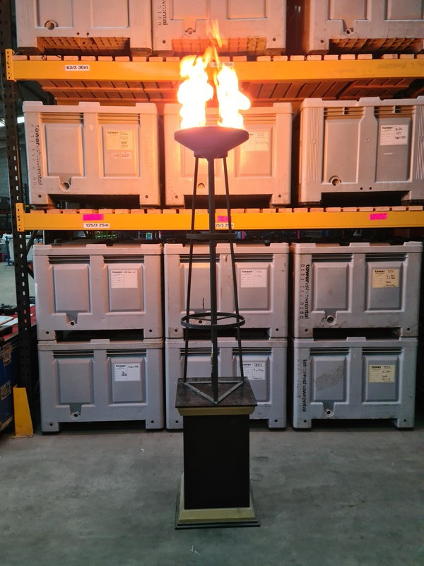 Gas Flambeaux for event or restaurant or event