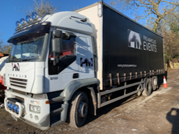 Iveco 26 Ton with Forklift Brackets