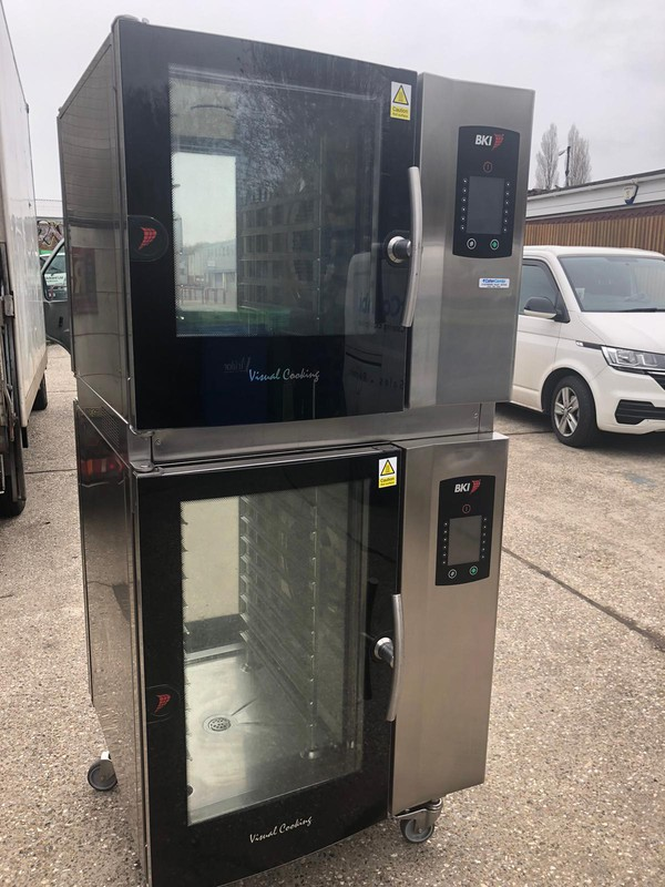 Buy Stacked Passthrough Electric Combi Ovens