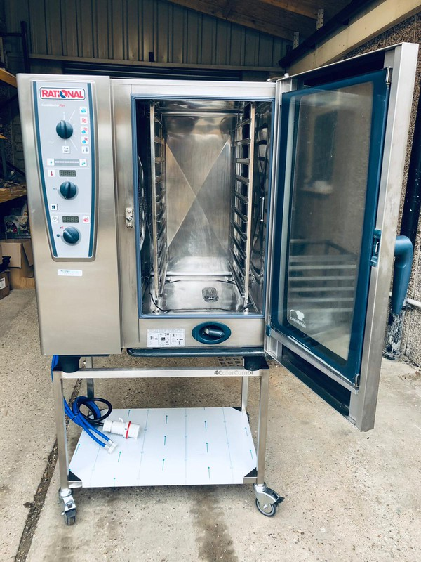 Rational Combi Master Plus 101E with stand
