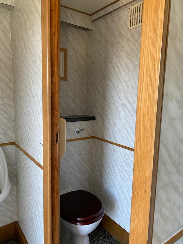 Gents side toilet