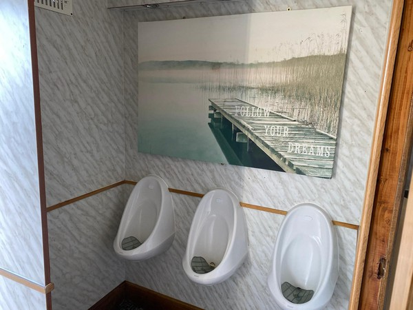 Three gents Urinals