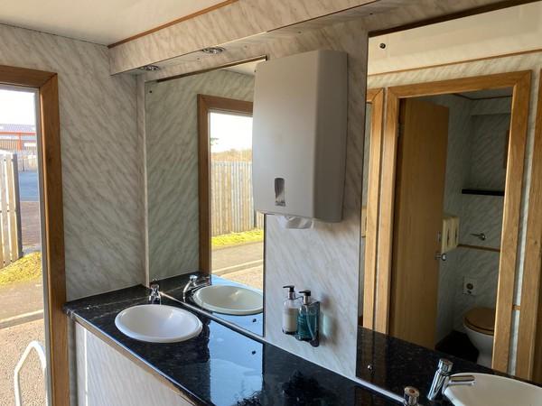 Toilet trailer hire business