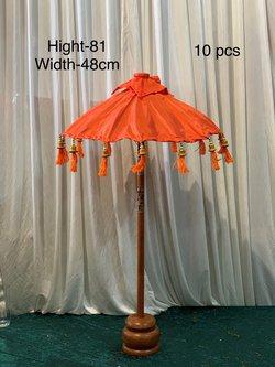 Burnt Orange Bali Umbrella