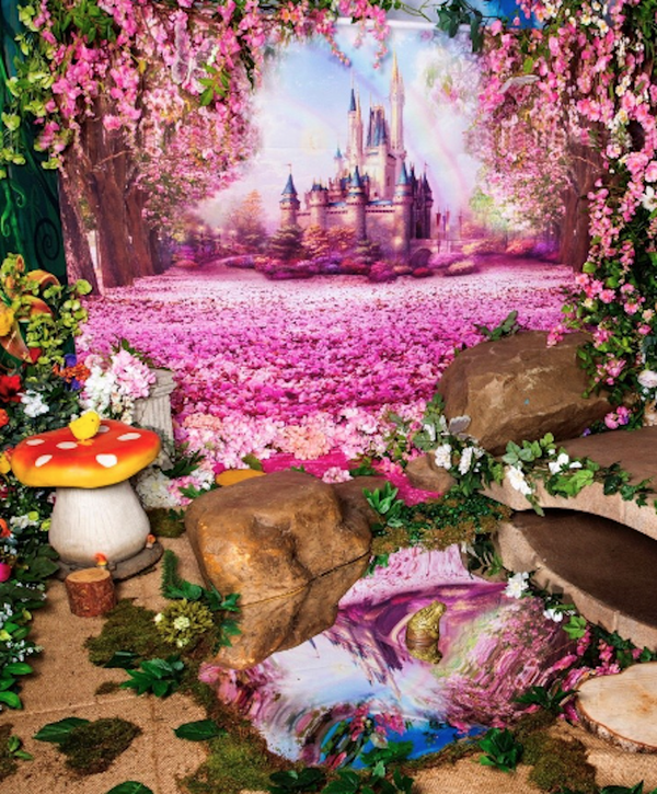 Pink Fairy Backdrop