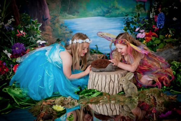 Fairy Dress Up Photography