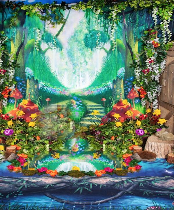 Green Fairy Scene