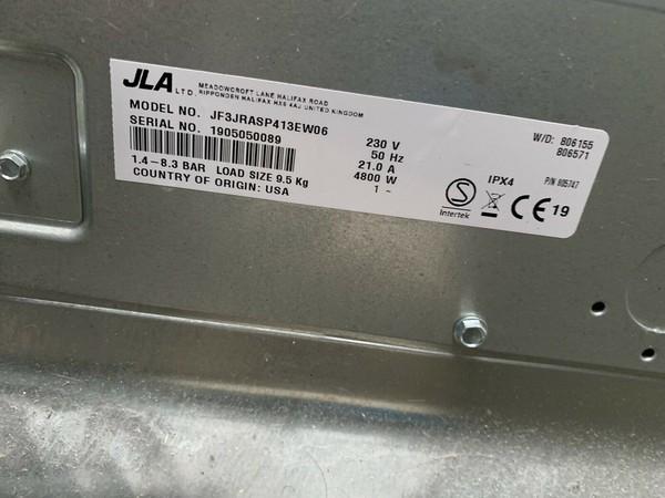 JLA 98 Commercial Washing Machine Smart Technology Light Use - West Sussex 5