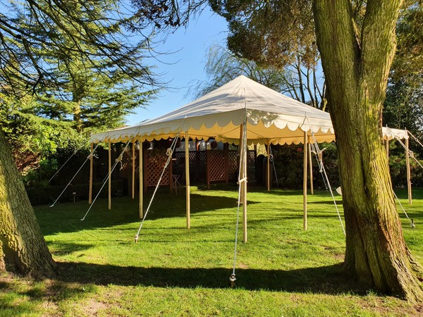 20ft x 20ft traditional marquee for sale