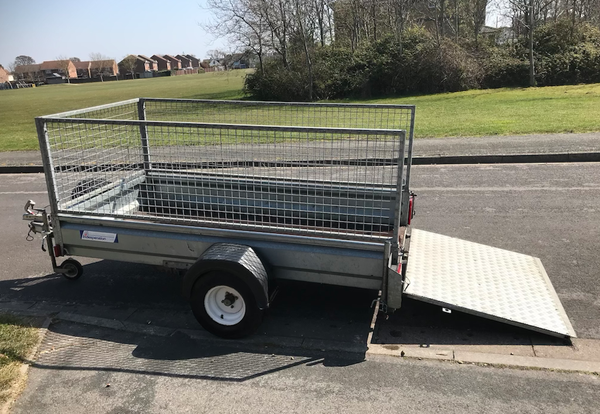 Indespension cage trailer