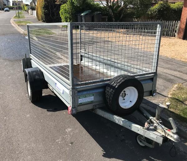 Indespension cage trailer for sale
