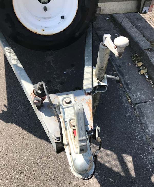 Used Indespension trailer