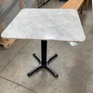 Square Marble restaurant tables