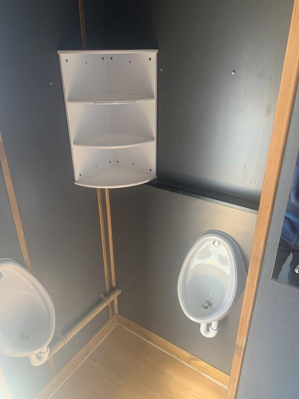 2+1 Toilet Trailer for sale