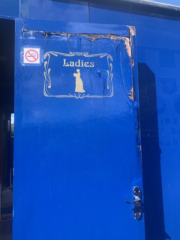 Toilet Trailer Door