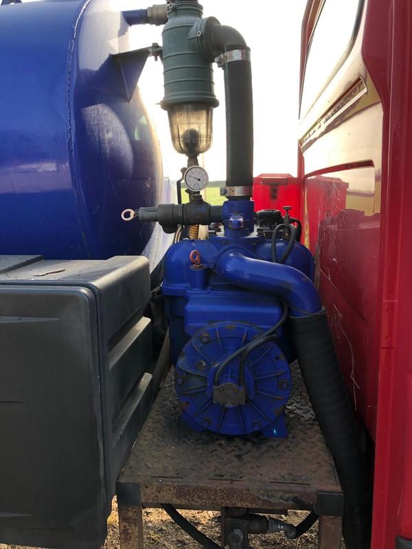 PTO driven pump