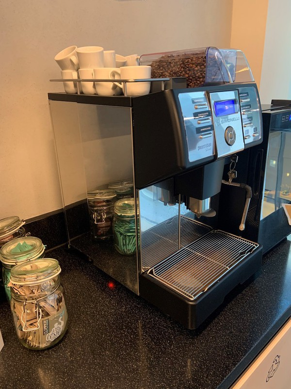 Bean to Cup Coffee Machine and fridge