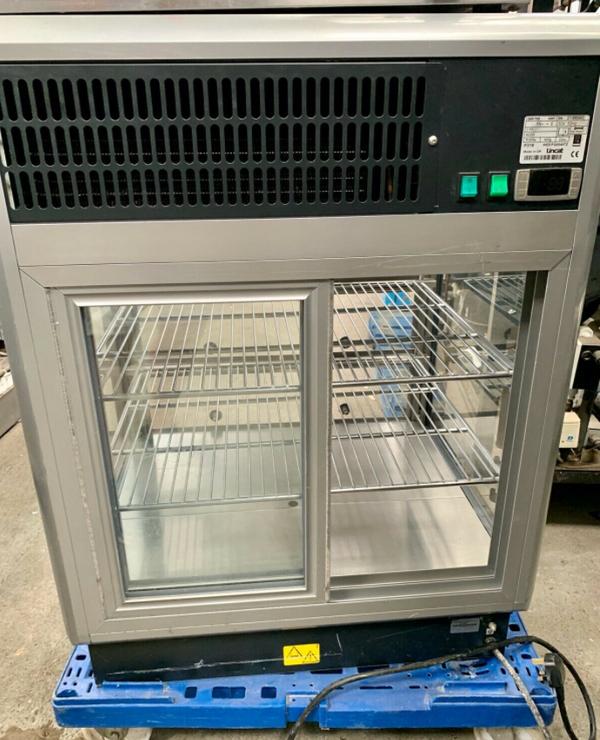 Display counter top fridge
