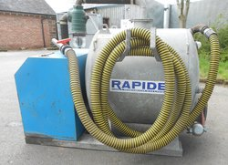 Rapide 150 gallon pumper unit