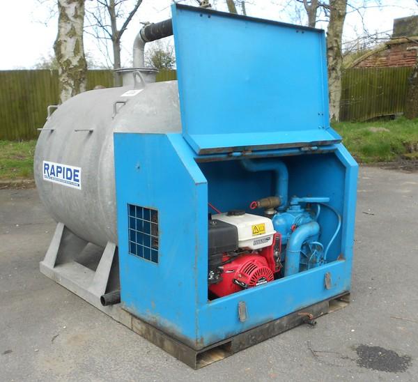 Used Rapide 150 gallon pumper unit for sale