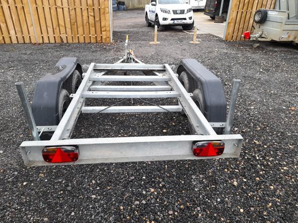 Generator trailer - twin wheel - Galvanised