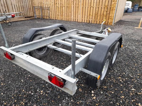 Twin wheel generator trailer for sale