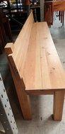 Large Oak Bench Seating
