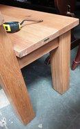 Sturdy Oak Bench