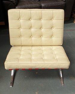 Low Chrome Chair