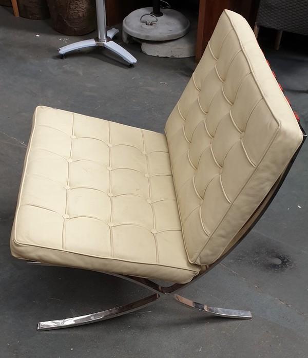 Barcelona Frame Chrome Chair